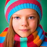 Strong colourful portrait of young girl at Cormac Byrne Photography