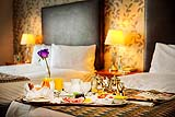 Dromoland Inn breakfast in bed advertising image, Dromoland Co.Clare