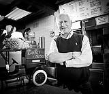 Luigi famous for his fish and Chips, poses for Faces of Limerick