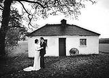 Brid and groom at the beautiful location of the  Ballygarry House, Tralee, Co. Kerry.
