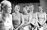 Bride and bridesmaids enjoying a funny moment at a wedding in Fossa Church, Killarney, Co. Kerry with wedding reception at the Dunloe.