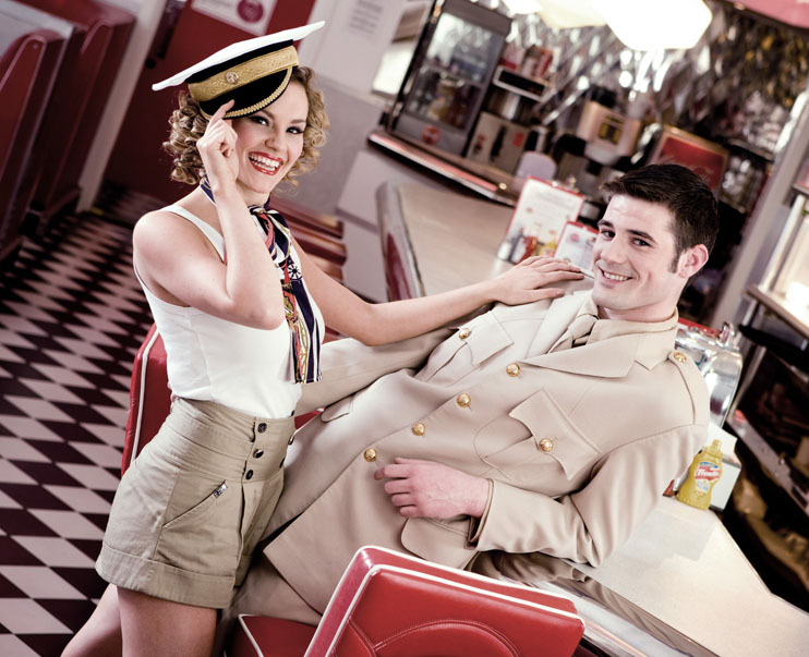 Eddie Rockets restaurant Limerick was the location for this fashion shoot by Cormac Byrne
