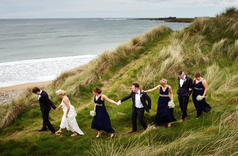 Wedding Photography In Spanish Point Co Clare By Cormac Byrne Photographer Limerick