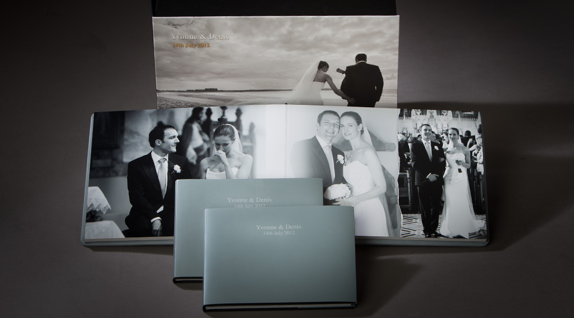 One of our storybook album packages which includes parent books.