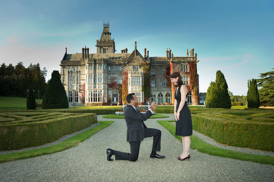 Adare Manor Wedding proposal