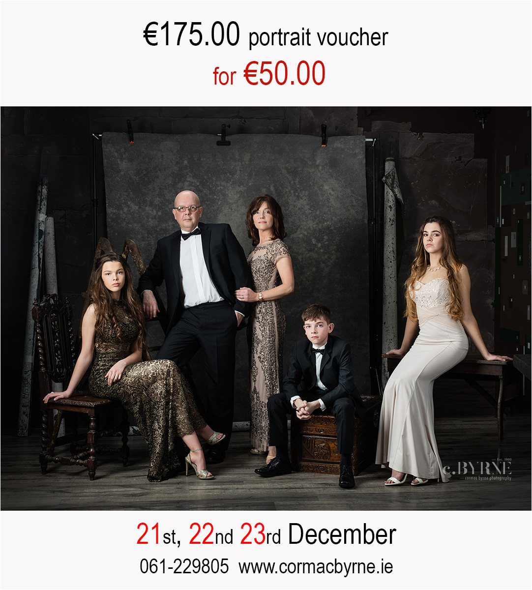 For three days only, gift voucher special rate.